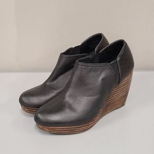 Dr. Scholl's Harlow Wedge Booties size 7.5